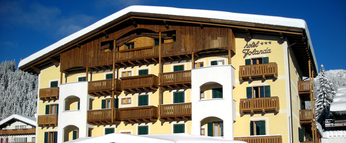 Hotel Jolanda - Hotel Dolomites - San Martino di Castrozza, Trentino ...